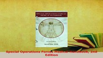 Download  Special Operations Forces Medical Handbook 2nd Edition PDF Full Ebook