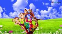 Finger Family Nursery Rhymes | Cute Monkey Cartoon Monkey | Cartoon Animation Songs for Children