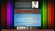 READ book  Millionaire Within Untold Stories from the Internet Underworld Full Free