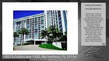 10275 Collins Ave 1502, Bal Harbour, FL 33154
