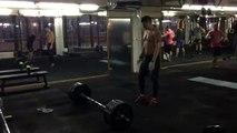 Саша Взятие на грудь в ПП 120 кг