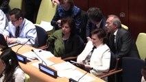 """Sürdürülebilir Kalkınma İçin Gündem 2030"""" Toplantısı - Çevre ve Şehircilik Bakanı Sarı - New"""