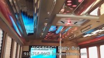 Party Bus Fayetteville NC   Party Bus Rental Fayetteville NC   Limo Service Raleigh NC