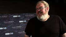 Game of Thrones _Season 4_ Kristian Nairn on Why Hodor Should #TakeTheThrone (HBO)