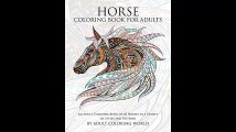 Horse Coloring Book For Adults Printable Version An Adult Coloring Book of 40 Horses in a Variety of Styles