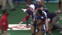 Une footballeuse américaine renverse une bière et déclenche une bagarre... Sport délicat ? Vraiment ?