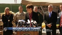 Officials Uncover Elaborate Mexican Drug Tunnel and Cache of Drugs