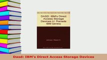 PDF  Dasd IBMs Direct Access Storage Devices  Read Online