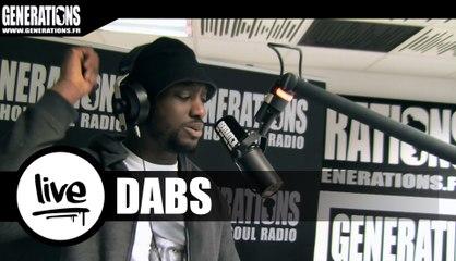 Dabs - La Rue (Live des studios de Generations)
