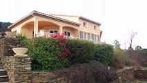 ALES 30100 - VENTE VILLA avec Vue panoramique sur les Cévennes - 152 m² - Terrain 6000 m²