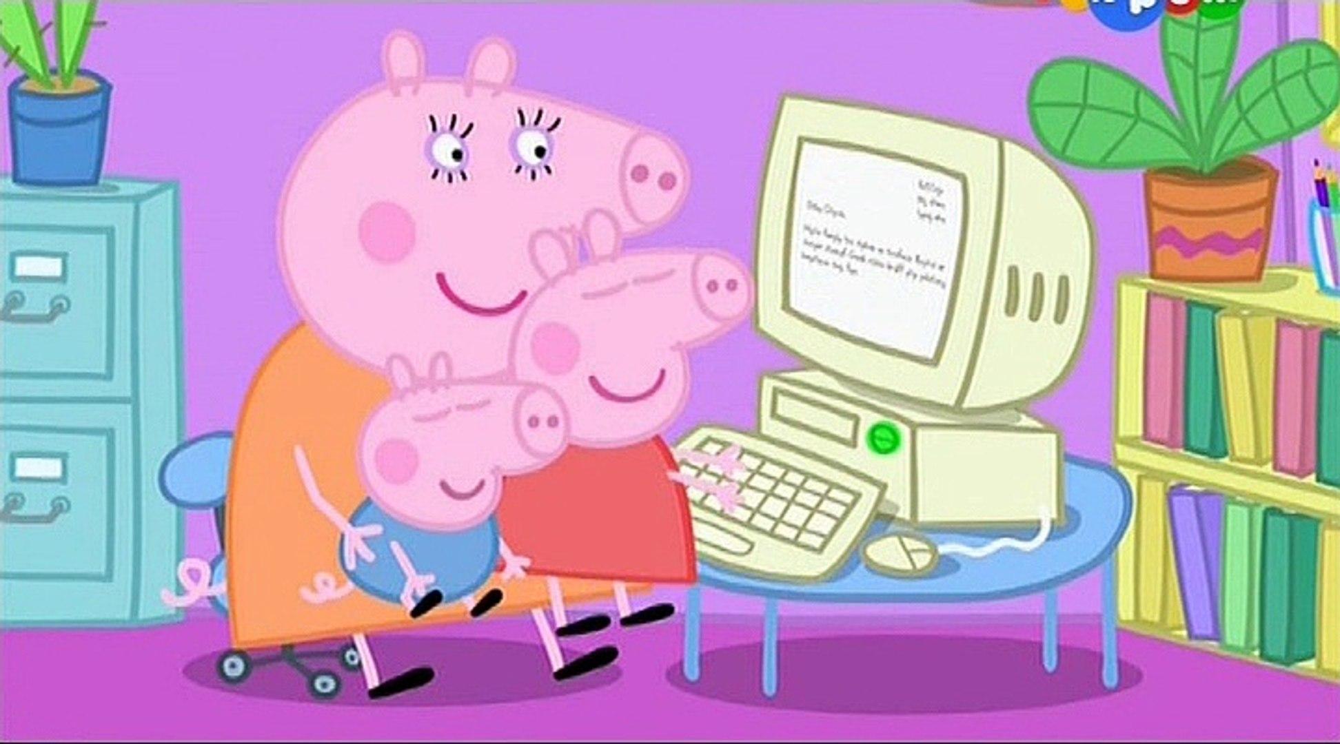 Свинка Пеппа- Мама Свинка работает- Mummy Pig at Work -Все серии подряд Свинка Пеппа