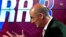 Jordi Moix exposa el projecte del Nou Camp Nou a l'Hora B