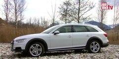 Prueba en vídeo: Audi A4 allroad 2016 en asfalto y offroad