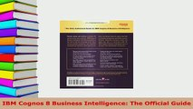Download  IBM Cognos 8 Business Intelligence The Official Guide  Read Online