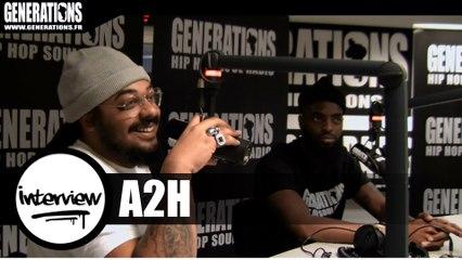 A2H - Interview #Libre (Live des studios de Generations)