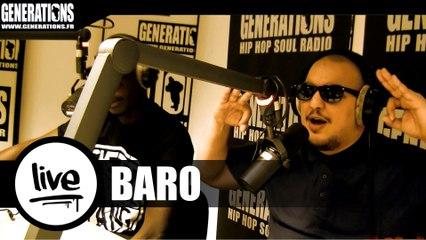 Baro - Haschich Boy // Sorry (Live des studios de Generations)