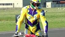 Longest ramp jump on a quad bike (ATV) - Guinness World Records Classics