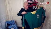 Jacques Vendroux présente son incroyable collection de maillots de foot