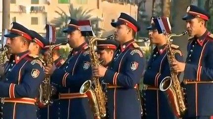 La version assez surprenante de la Marseillaise jouée par la fanfare de l'armée égyptienne