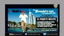 EL MONÓLOGO DE GERALD OGANDO:  GERALD PA DUBAI Y A LA OLLA BYE BYE -ESTA NOCHE MARIASELA-VIDEO