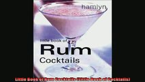 READ book  Little Book of Rum Cocktails Little Book of Cocktails  BOOK ONLINE