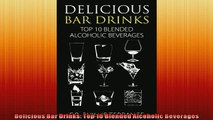 EBOOK ONLINE  Delicious Bar Drinks Top 10 Blended Alcoholic Beverages  BOOK ONLINE