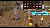 Pat and Jen PopularMMOs Minecraft EPIC BURNING HORSE RACE   PAT & JEN THEMEPARK 6