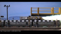 Fastest Maglev In The World: USAF Rocket Maglev 633 MPH World Record Run
