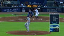 LAD@ATL: Braves take advantage of Dodgers errors