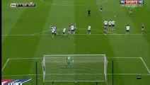 Barton J. Free kick GOAL - Preston-0-1-Burnley 22.04.2016