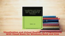 PDF  Visualization and Virtual Reality 3D Programming With Visual Basic for WindowsBook and  EBook