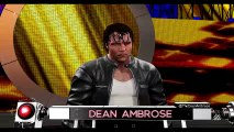 WWE 2K16 Dean Ambrose vs. Sheamus Wrestlemania Submission Match