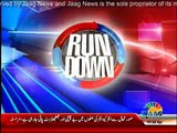 Run Down - 22nd April 2016