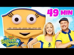 Splash N Boots Favorites Part 2 HD Shows for Kids by Treehou