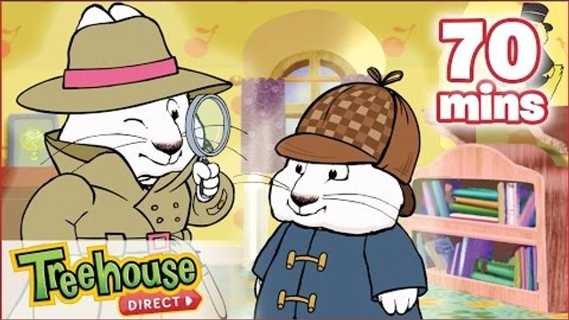 Max & Ruby: Detective Mystery HD Compilation!   Funny Cartoons for Children By Treehouse Direct