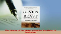Read  The Genius of the Beast A Radical ReVision of Capitalism PDF Free