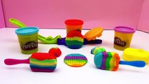 Play Doh français DIY Glaces et gaufres arc en ciel rainbow ice cram maker Scoops NTreats