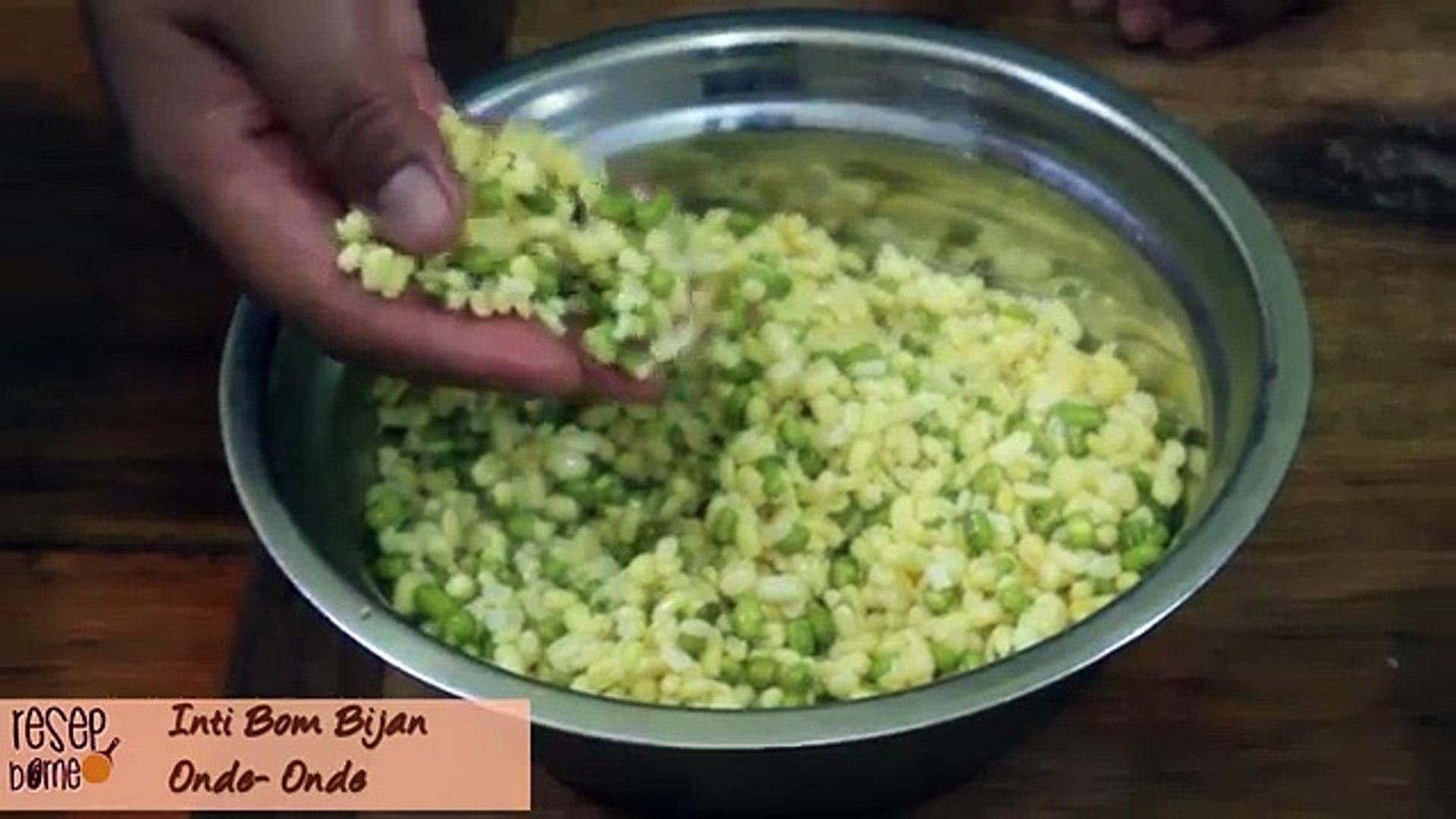 Cara Membuat Inti Kacang Hijau Kuih Bom Bijan Onde Onde
