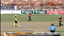 Younis Khan Funny Run Out in Pakistan Cup 2016 - Match 04_ Punjab vs KPK