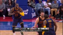 Kyrie Irving Hits the Clutch Dagger   Cavaliers vs Pistons   Game 3   April 22, 2016   NBA Playoffs
