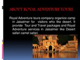 Jaisalmer desert tour package, Jaisalmer tourism packages, tour packages jaisalmer