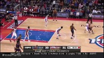 Andre Drummond Elbows LeBron James | Cavaliers vs Pistons | Game 3 | April 22, 2016 | NBA Playoffs