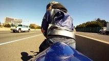 top speed run on ninja 600 (zx6r) - video dailymotion