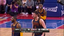 Kyrie Irving Hits the Clutch Dagger | Cavaliers vs Pistons | Game 3 | April 22, 2016 | NBA Playoffs