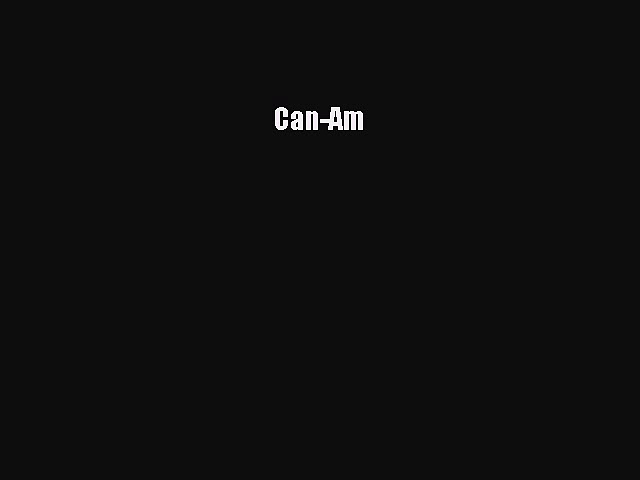 [Read Book] Can-Am  EBook