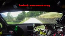 Rally BIG CRASH On Board Camera Car Rally CRASH 2016 Tutorial
