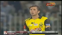 Ahmed Shehzad doing cat walk during match very confidently