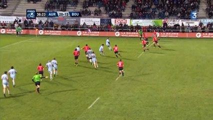 Pro D2 : Stade Aurillacois - Bourgoin (44-20)