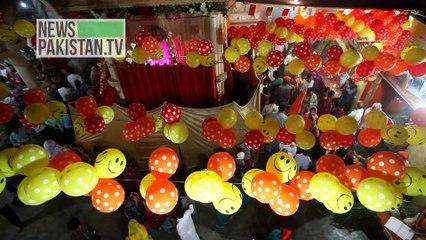کراچی میں ہندو برادری کا مذہبی تہوار منایا گیا