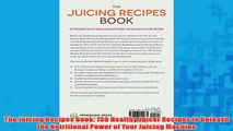 Free   The Juicing Recipes Book 150 Healthy Juicer Recipes to Unleash the Nutritional Power of Read Download